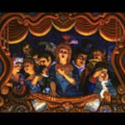 Night At The Paris Opera Poster