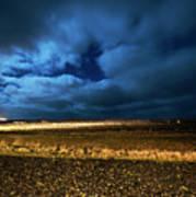 Icelandic Night  Poster