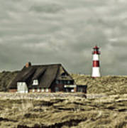 North Sea Lighthouse - Germany Poster