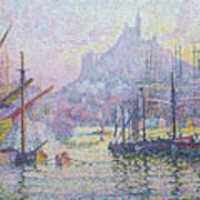 Notre Dame De La Garde, La Bonne Mere, Marseilles Poster