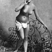 Nude Posing, C1885 Poster