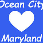 Ocean City Maryland Poster