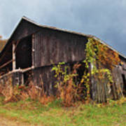 Ohio Barn In The Fall Poster