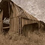 #210 Old Barn Poster