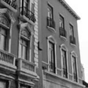 Old San Juan Puerto Rico Downtown  Poster