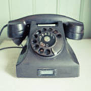 Old Telephone Square Poster