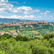 Old Town Of Orvieto, Umbria, Italy Poster
