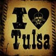 Old Tulsa Poster