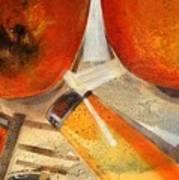 Orange Still Life Poster