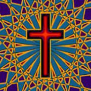Ornamental Cross Poster