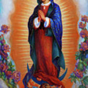 Our Lady Of Guadalupe - Virgen De Guadalupe Poster