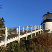 Owls Head Lighthouse Poster