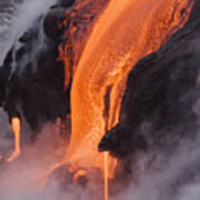 Pahoehoe Lava Flow Poster