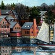 Paint Factory, Gloucester, Ma Poster