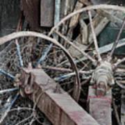 Palouse Farm Wheels 3156 Poster