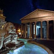 Pantheon Rome Poster
