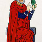 Paracelsus, Swiss Doctor And Alchemist Poster