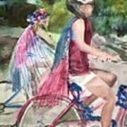 Parade Cyclers Poster