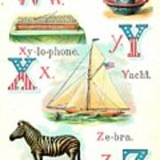 Patriot Abc Book  Page Twelve Poster