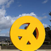 Peace From The Oakland Museum . Oakland California . 7d13411 Poster