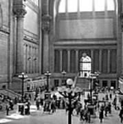 Pennsylvania Station Interior Poster
