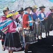 Peruvian Ladies Poster