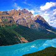Peyto Lake, Banff National Park Poster