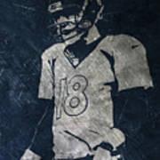 Peyton Manning Broncos Poster