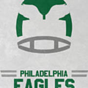 Philadelphia Eagles Vintage Art Poster