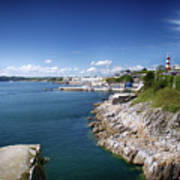 Plymouth Foreshore Poster