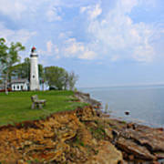 Pointe Aux Barques Lighthouse Poster