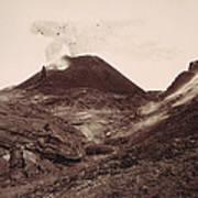 Pompeii, Mt Vesuvius Poster