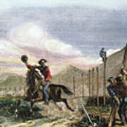 Pony Express, 1867 Poster
