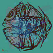 Pop Art - New Tropical Fish Poster Poster