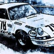 Porsche Carrera Rsr, 1973 - 03 Poster