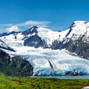 Portage Glacier Poster