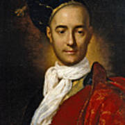 Portrait Of A Young Nobleman Poster