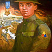 Portrait Of Corporal Roberts Poster