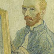 Portrait Of Vincent Van Gogh Poster