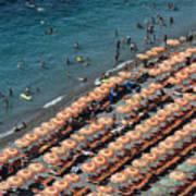 Positano Beach Poster