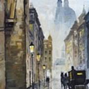 Prague Old Street 01 Poster