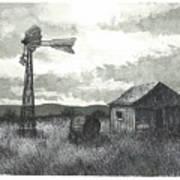 Prairie Farm Poster by Jonathan Baldock