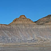 Pyramid Mountains In Emery County Utah Poster
