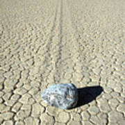 Racetrack In Death Valley Poster