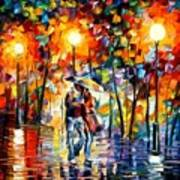 Rainy Evening Poster