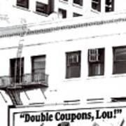Raleigh Cigarettes Billboard Ad Portland Oregon 1979 Poster