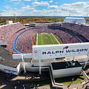 Ralph Wilson Stadium Poster