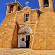 Ranchos De Taos Church  Poster