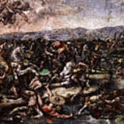 Raphael The Battle At Pons Milvius  Poster