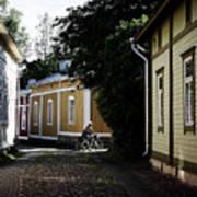 Rauma Old Town Poster